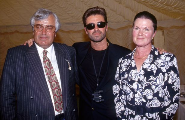 George Michael's father, left, was one of 11 beneficiaries of his 2019 will.